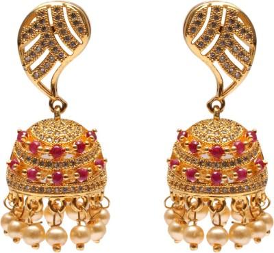 Mata Payals Fashion Earrings Alloy Jhumki Earring