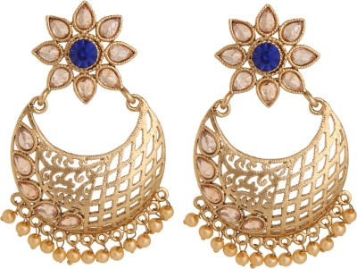Voril Fashion Alloy Chandbali Earring at flipkart