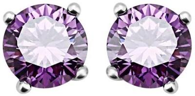 Ouxi Elements Stud s Crystal Zinc Stud Earring