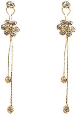 Kenza Designer Earring Cubic Zirconiya Crystal Alloy Dangle Earring