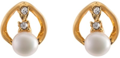 Krishna Pearls & Jewellers Cubic Zirconia Alloy Earring Set