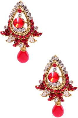 Rubena Comfy Carnelian Alloy Drop Earring