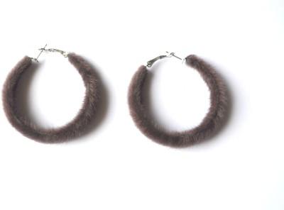 SAP Alloy Hoop Earring