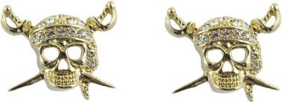 Gildermen GMEA1LRRR12 Cubic Zirconia Alloy Stud Earring