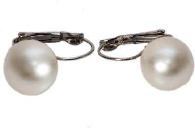 Trendy Nuts Charming Pearls Alloy Stick-on Earring