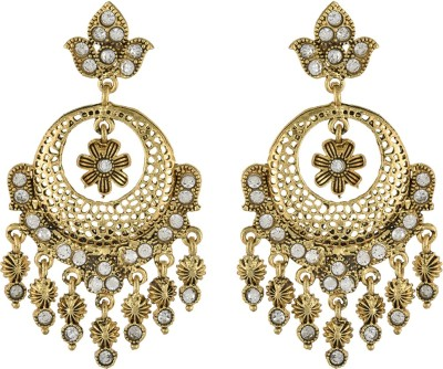 Dimple Creation chaandbali Alloy Drop Earring