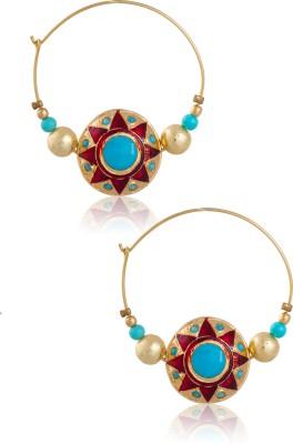 Zevar Swarn Torque Earrings Copper Earring Set