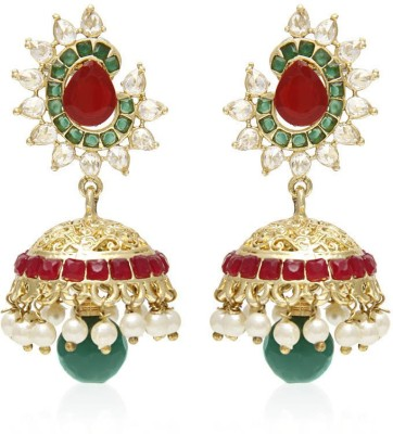 Jewels Galaxy Luxuria Collection Copper Jhumki Earring