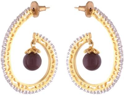 Dhasoomaal DM145 Copper Drop Earring