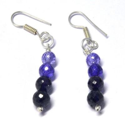 Chouhangems Woman Fashion Beads Glass Dangle Earring