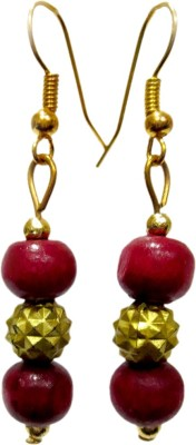 DCS Red Wood Drop Earring