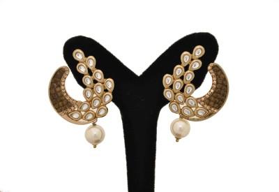 Arohi Jewells & Gems AJG16 Copper Earring Set
