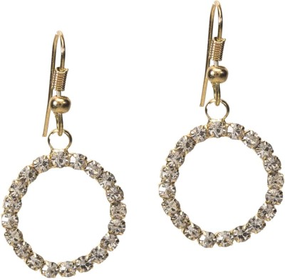 Medallion Collection Balis Brass, Copper Dangle Earring