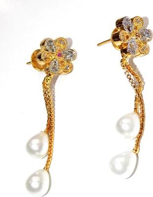Jewels Kafe Glamorous Alloy Drop Earring