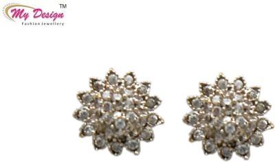 My Design Designer Studs Brass Stud Earring