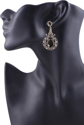 Arittra New Style Stone, Metal Drop Earring