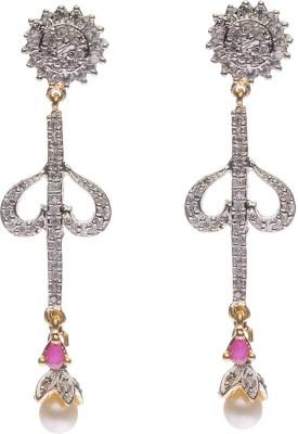 Rays Designer Copper Dangle Earring