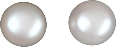 Krishna Pearls & Jewellers Pearl Alloy Stud Earring