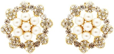 Saashis Closet Shine N Shimmer Alloy Stud Earring