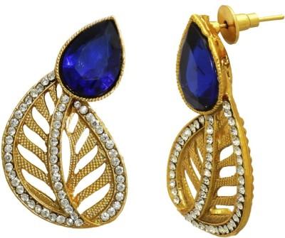 Aarnaa Royal Blue Women Alloy Drop Earring