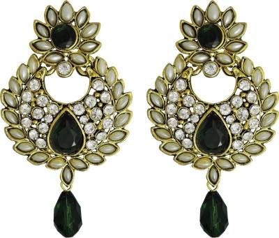 Aura Collection Statement31 Alloy Chandbali Earring