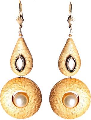 Slice Of Bengal Earring Metal Dangle Earring