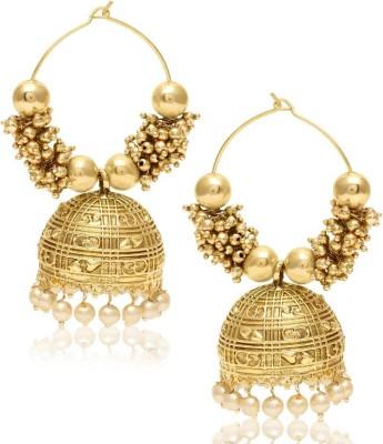 Jewels Galaxy Royal Traditional JE-128 Alloy Jhumki Earring