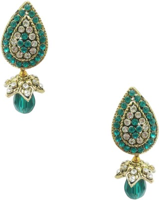 Taruni Taruni Blue Drop Earrings. Alloy Drop Earring