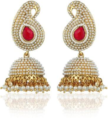 Allure Trendy and Elegant Alloy Jhumki Earring