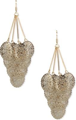 Aimez Golden Filigree Metal Dangle Earring