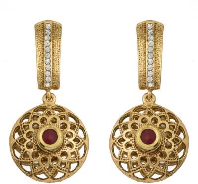 KANISH Modern Gold Alloy Huggie Earring