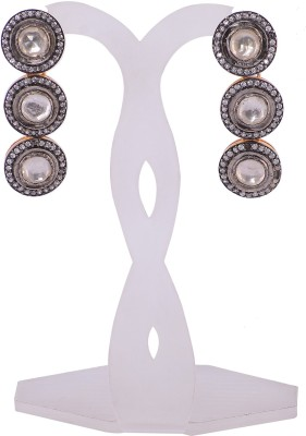Silvery SGPT-060-MN Silver Stud Earring