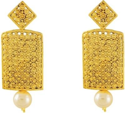 Art Nouveau High Quality Brass Earring Set