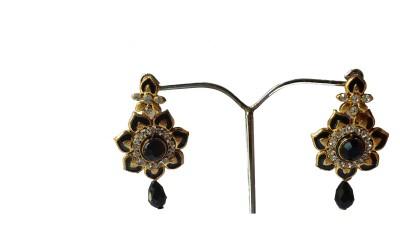 modifier BLACK CHARMING Crystal Alloy Drop Earring