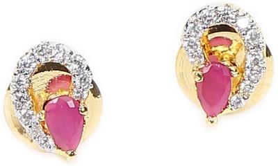Tiara Gems Alloy Stud Earring
