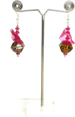 Deal And Gift Trangle Type Resin Drop Earring
