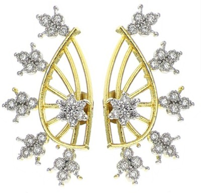 YouBella Forever Cubic Zirconia Alloy Cuff Earring