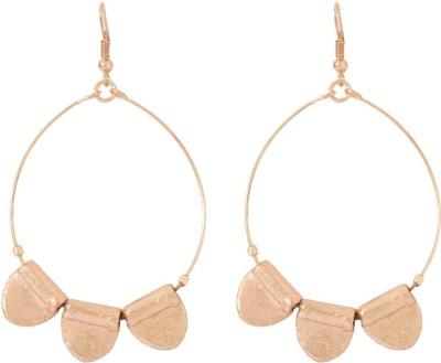 Voylla Artificial Classic Plain Alloy Dangle Earring