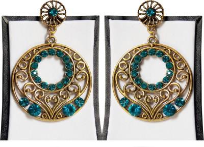 Simbright Alloy Chandbali Earring