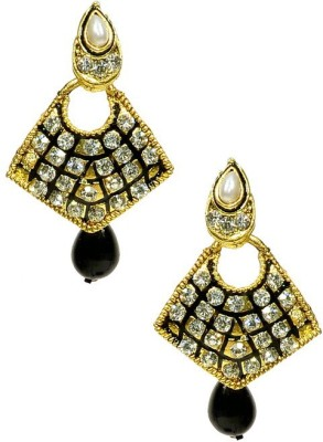 Shine My Life Miles Alloy Chandbali Earring