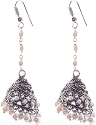 Ganapathy Gems 2117 Metal Jhumki Earring