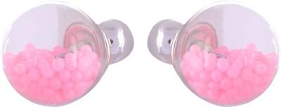 FashionFundamentals Bubble Plastic Stud Earring