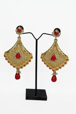 Ankur Brass Dangle Earring