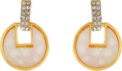 Numaish Sparkeling Crystal Alloy Stud Earring