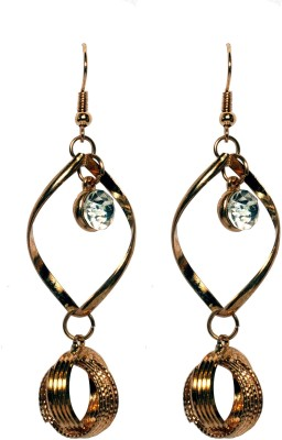 Sparkling Trinkets Gold Alloy Drop Earring
