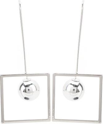 Maisha Designer Geometric Alloy Drop Earring
