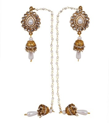 Gold & More Kashmiri Alloy Jhumki Earring
