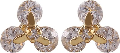 CatchMe Triangle Stone Alloy Stud Earring