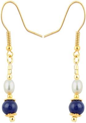 Pearlz Ocean Wonderful Pearl, Jade Alloy Dangle Earring