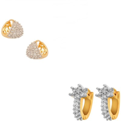 Jewels Galaxy Precious Collection Alloy Earring Set